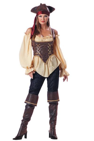 Rustic Pirate Lady Costume