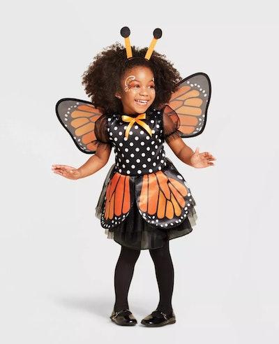 Toddler Butterfly Halloween Costume Dress