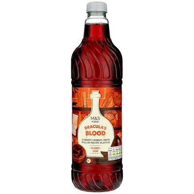 Dracula's Blood Fruit Drink