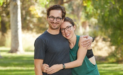 Leo Brown and Alana Folsom from The Amazing Race via the CBS press site