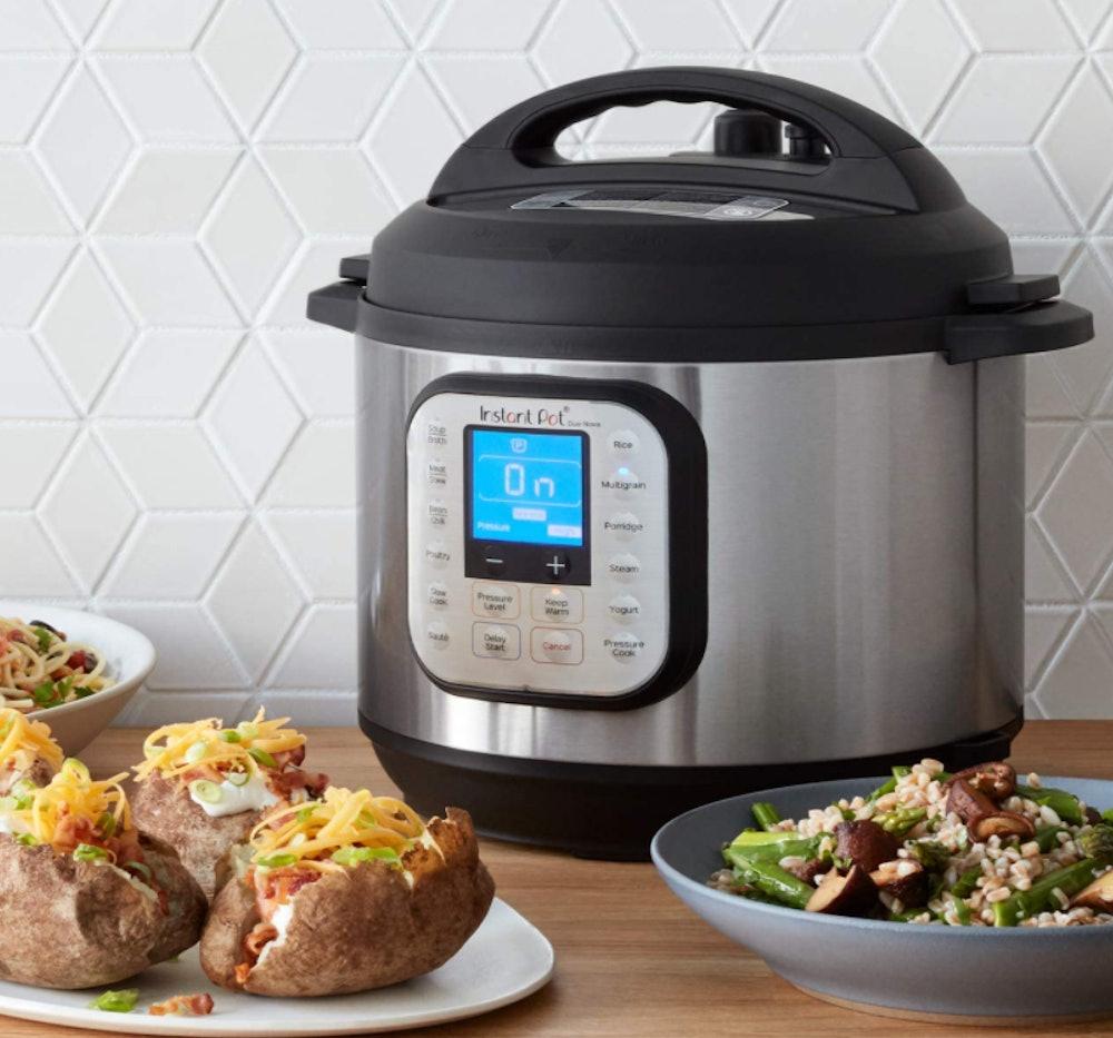 Instant Pot Duo Nova Pressure Cooker, 10-Quart