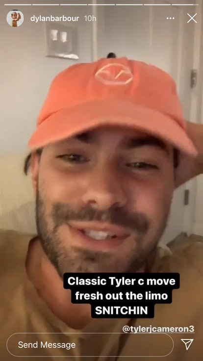 Dylan Barbour comments on The Bachelorette's new Tyler C.