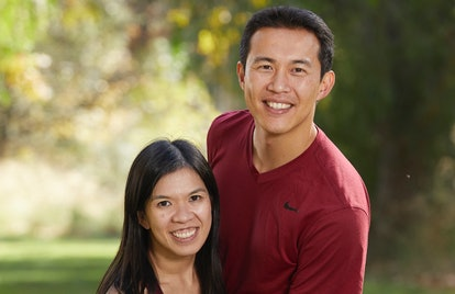 Hung Nguyen and Chee Lee on The Amazing Race via the CBS press site