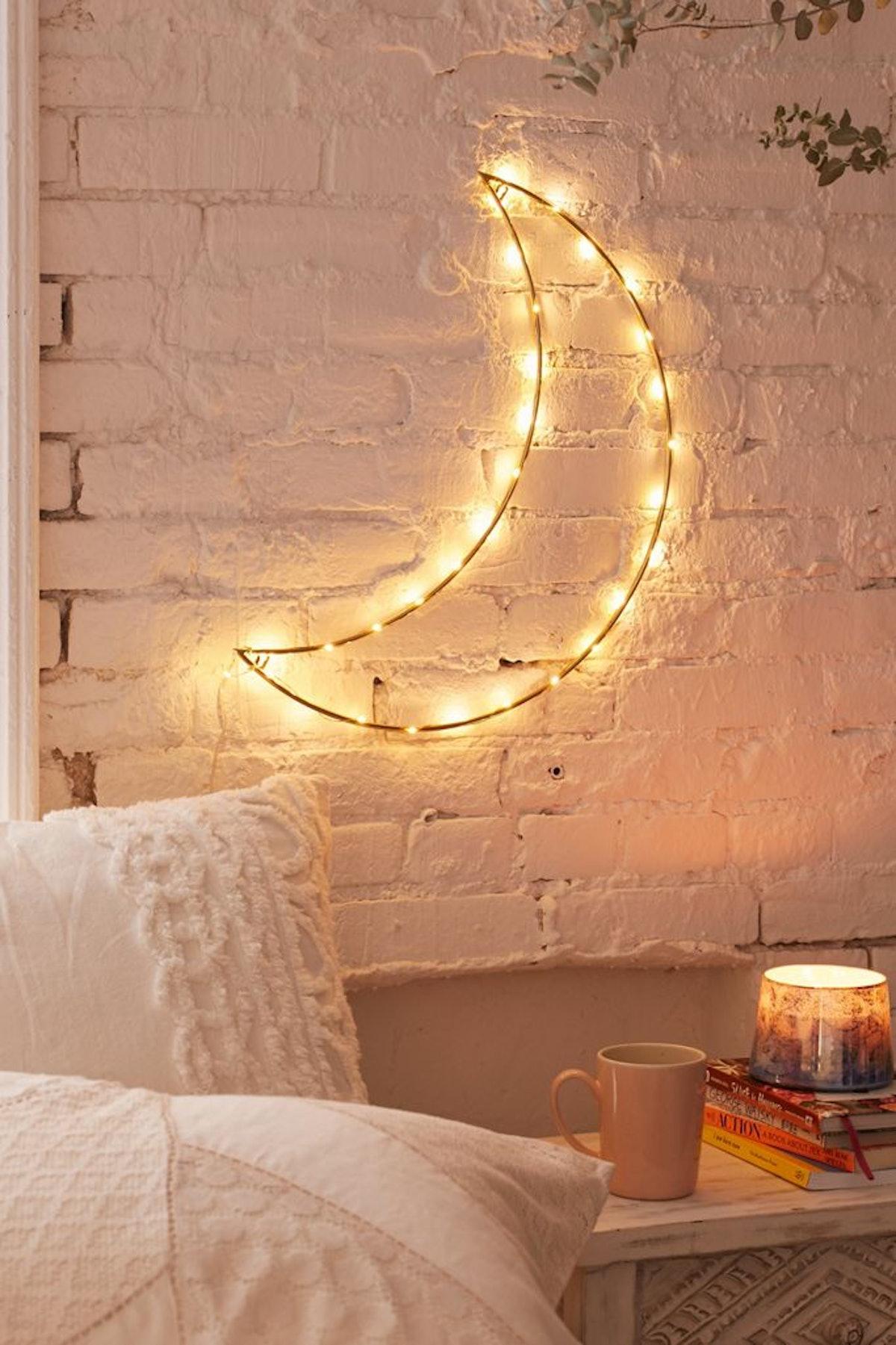Geo Moon Light Sculpture