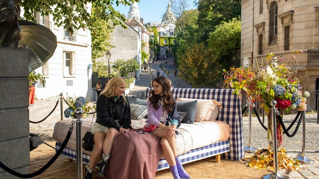 Emily & Camille In 'Emily In Paris'