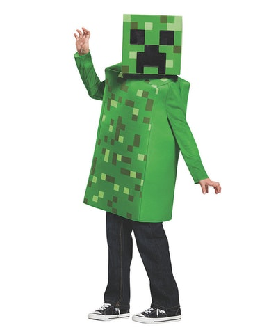 Classic Minecraft Creeper Costume