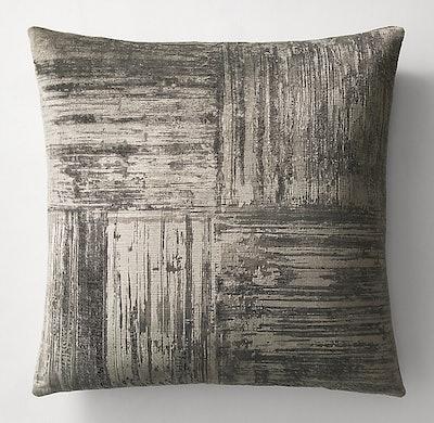 Velvet Brushstroke Four Square Pillow