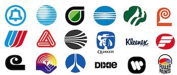 A collection of Bass logos