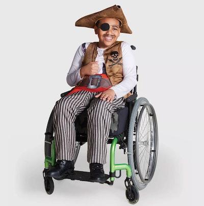 Kids' Adaptive Pirate Halloween Costume Jumpsuit