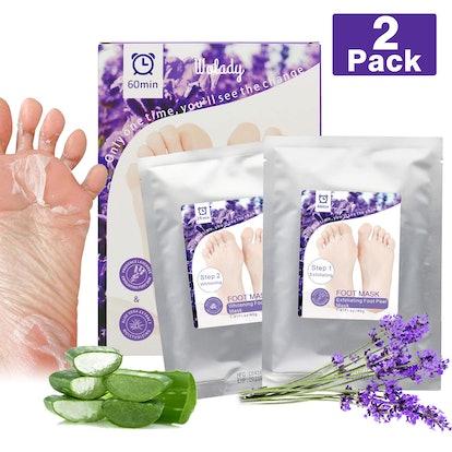 Wolady Foot Peeling Mask (2-Pack)