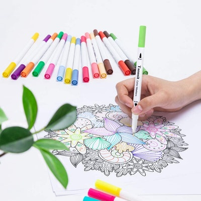 Tanmit Dual-Tip Markers (36-Pack)