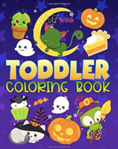 Toddler Halloween Coloring Book