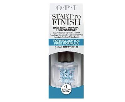 OPI 3-In-1 Start to Finish Nail Polish Treatment