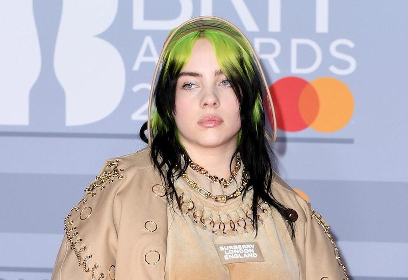 Billie Eilish at the Brit Awards