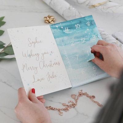 Lisa Angel Personalised 12 Days Of Treats Jewellery Advent