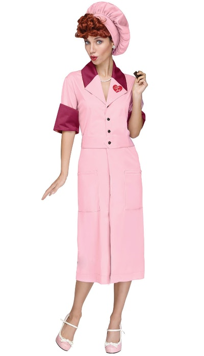 Women's I Love Lucy Candy Factory Costume