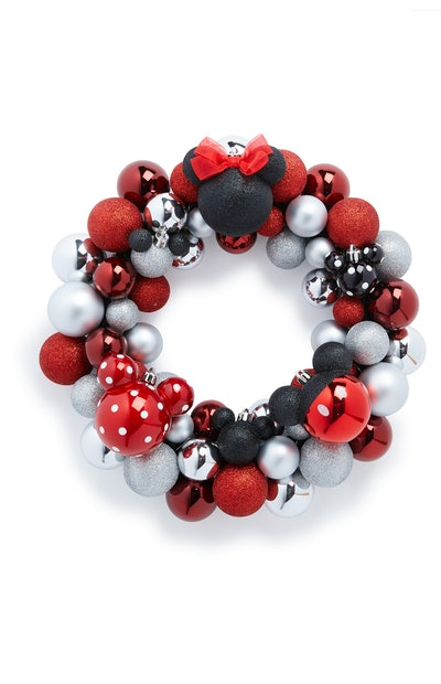 Mickey Mouse Bauble Wreath