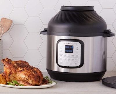 Instant Pot Duo Crisp Pressure Cooker, 8-Quart