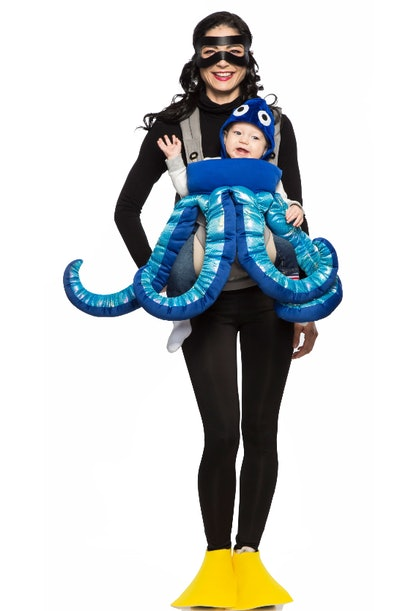 Diver and Octopus Costume