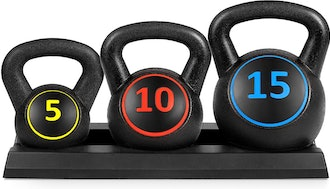 Best Choice 3-Piece Kettlebell Set