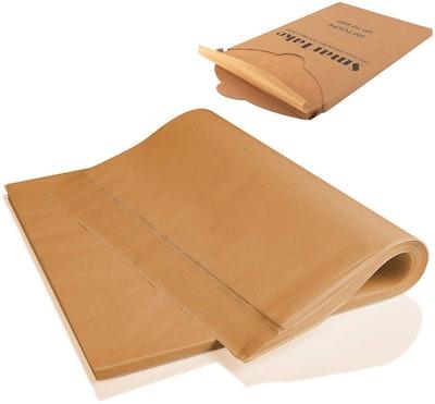 SMARTAKE Parchment Paper Baking Sheets (200 pieces)