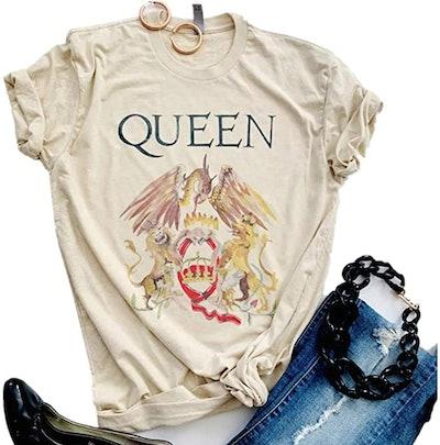 SurBepo Vintage Queen Graphic Tee