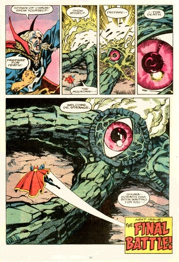 doctor strange mcu shuma-gorath marvel comics wandavision