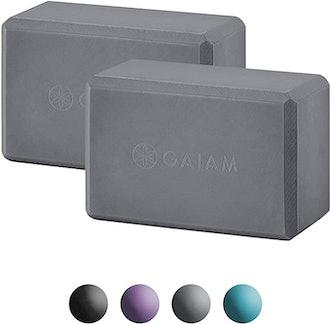 Gaiam Essentials Yoga Block (Set of 2)