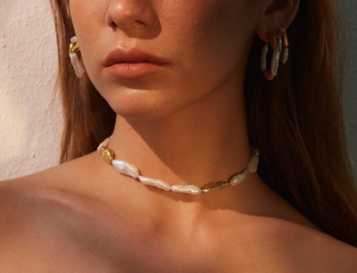 Birch Pearls Necklace