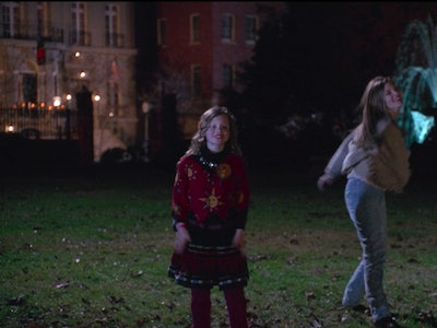 The same fountain pictured in Halloween favorite film, 'Hocus Pocus' was used in the opening credits of 'Friends'.
