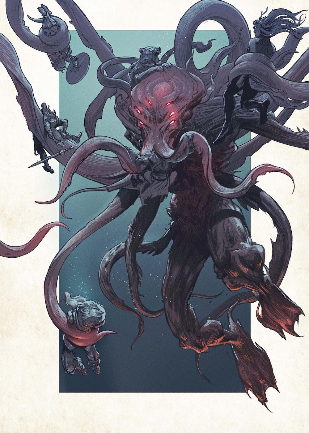 Kraken World of Critical Role