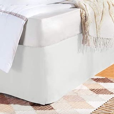 AmazonBasics Pleated Bed Skirt (Queen)