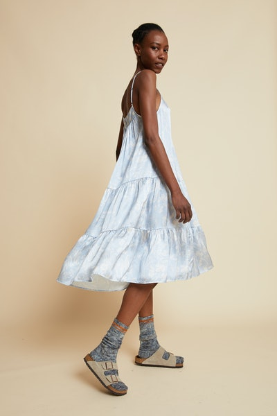 Spliced Ivy Tiered Nightgown