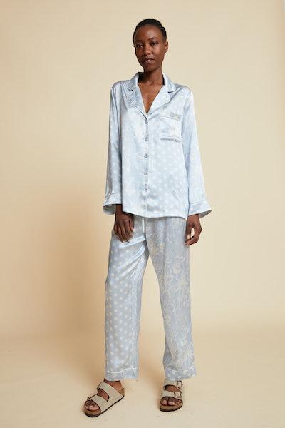Spliced Ivy Pajama Set