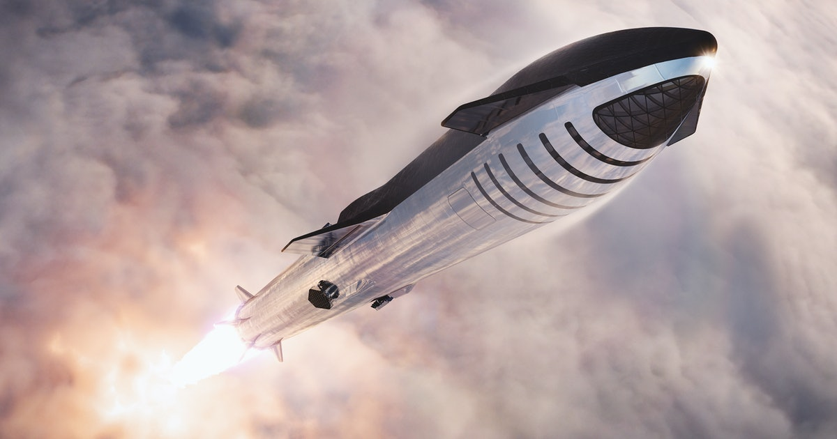 SpaceX Starship: Elon Musk responds to impressive render of future launch