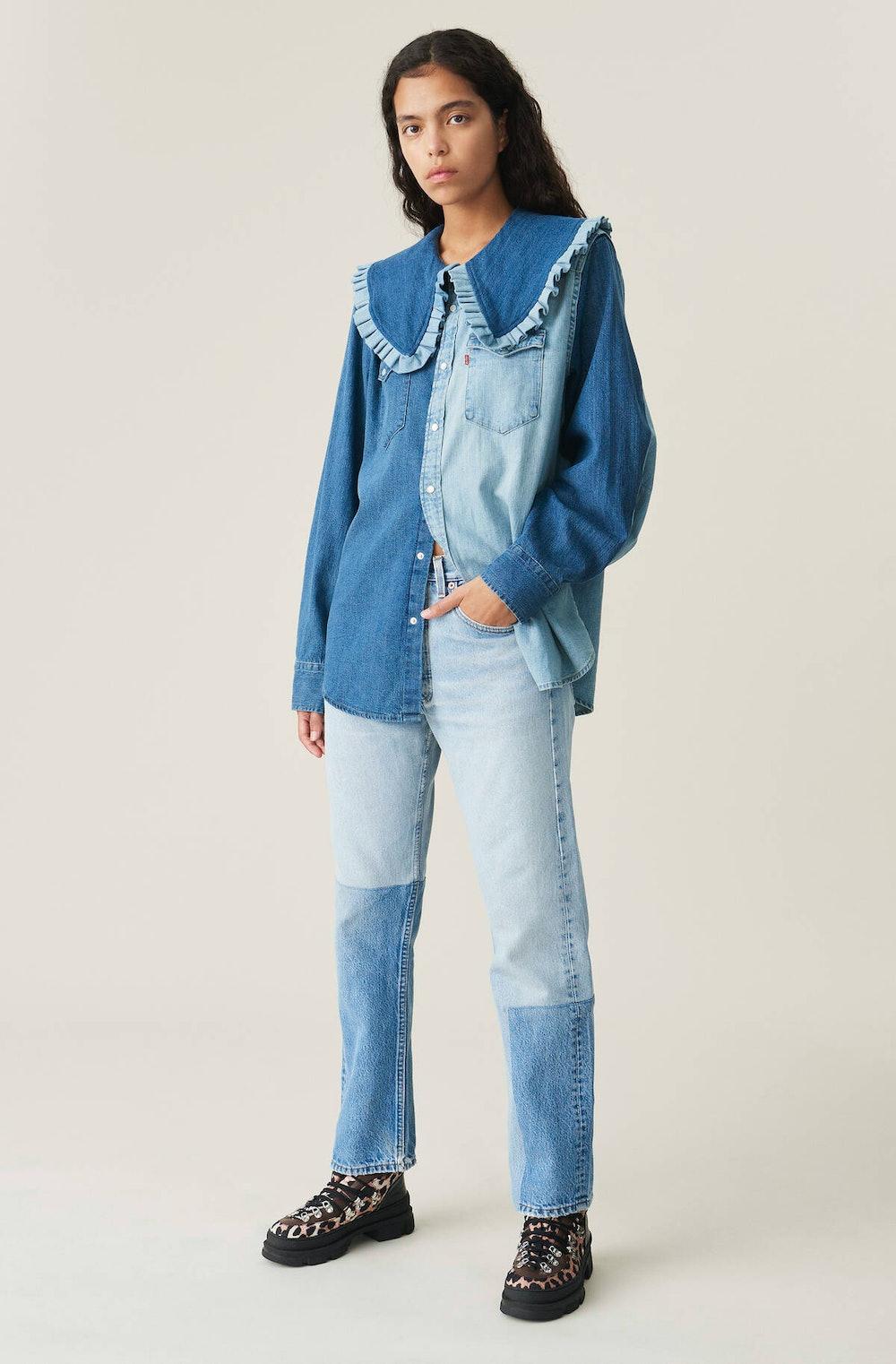 Upcycled Western Shirt
