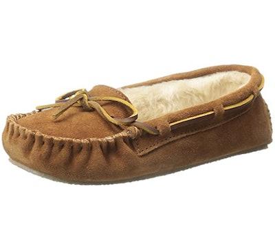 Minnetonka Women's Cally Faux Fur Slipper