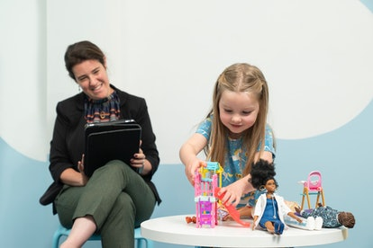 The research on Barbie play found that children were learning empathy.