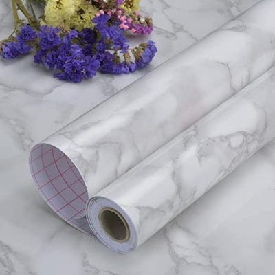 Art3d Marble Contact Paper (17.7 x 78.7 inches)