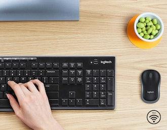Logitech Wireless Mouse & Keyboard Combo