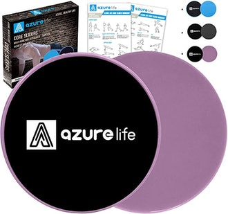 A AZURELIFE Exercise Core Sliders (2 Pack)