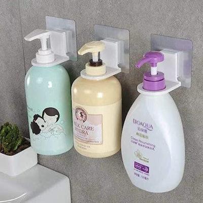 Shower Bottle Rack Hooks (3-Pack)
