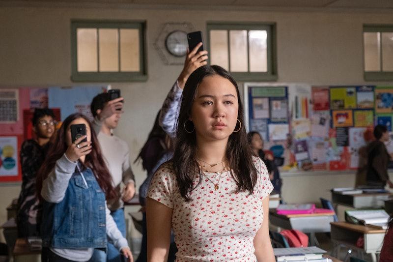 Amalia Yoo as Leila in Grand Army via the Netflix press site