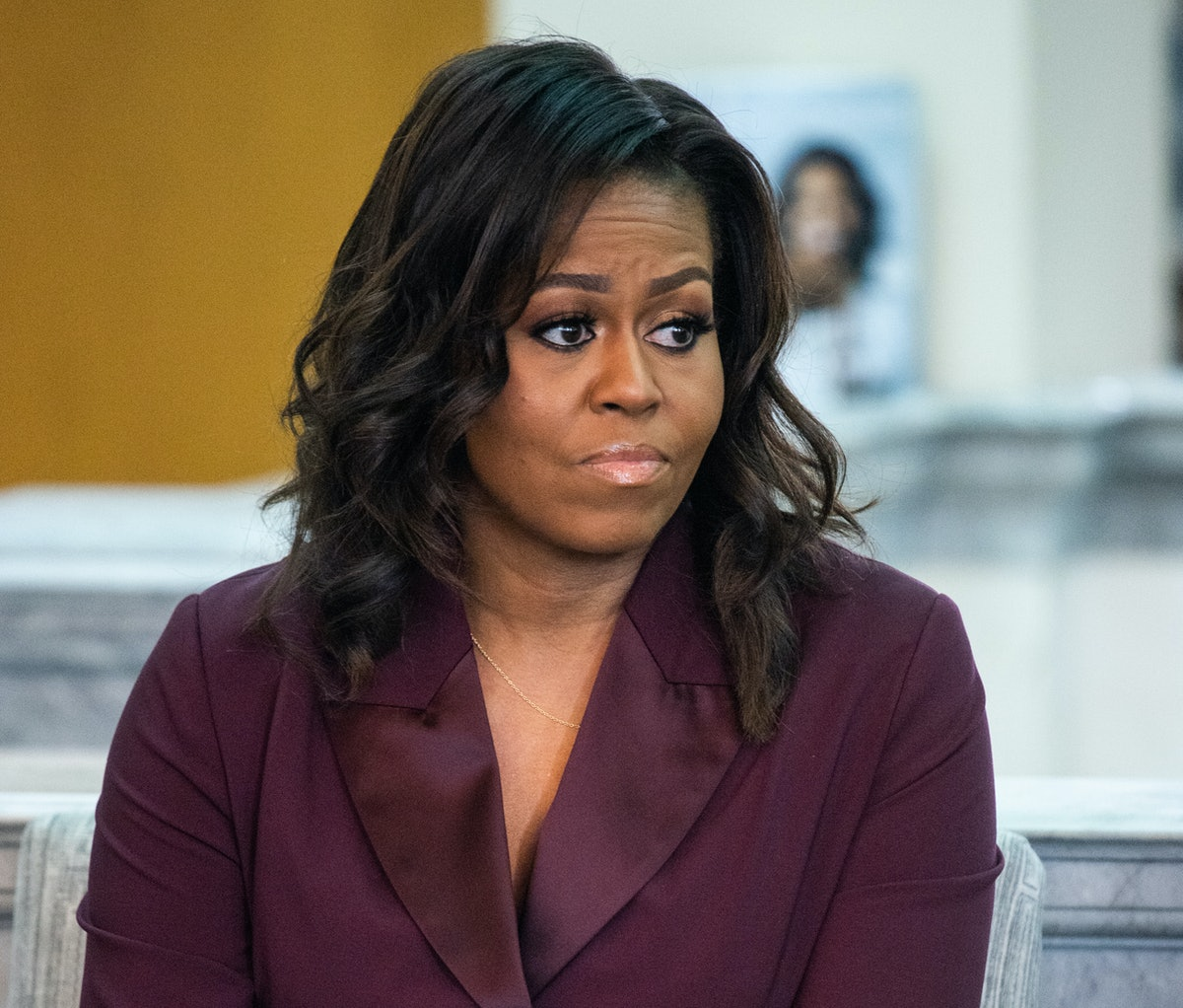 Michelle Obama hasn't been shy about sharing where she disagrees with President Trump.