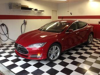 Ray's Tesla.