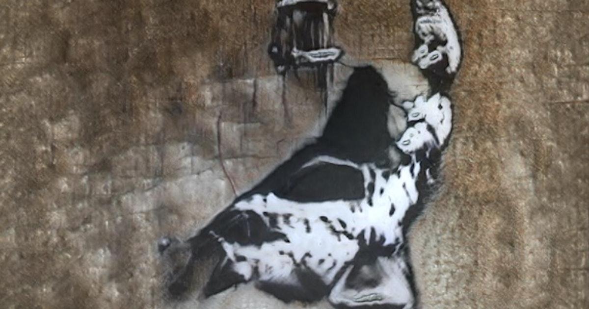 GANksy is the uncanny AI street art 2020 deserves