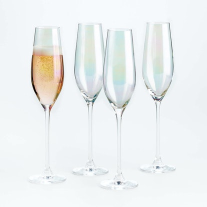 Lunette Champagne Glasses, Set of 4