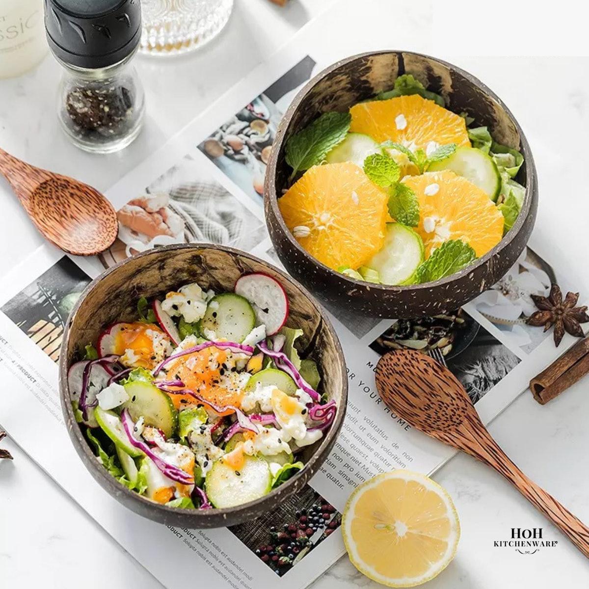 HoH Kitchenware™ Natural Coconut Bowl