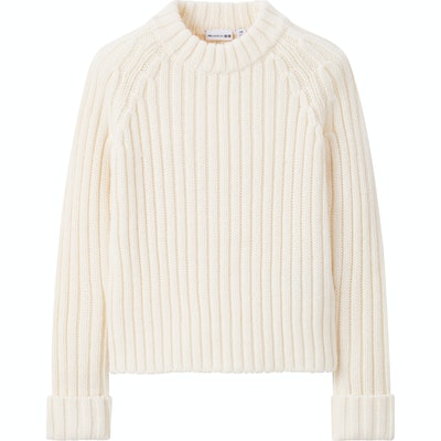 JW Anderson Cropped Crew Neck Jumper