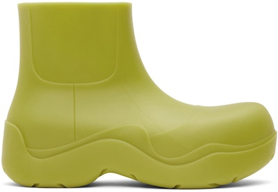 Green Matte BV Puddle Boots